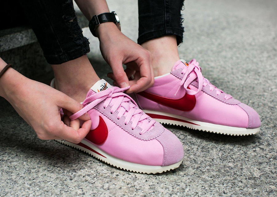 Nike Cortez Nylon Premium 'Perfect Pink'