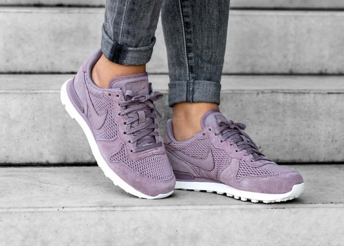 Chaussure Nike Internationalist PRM femme Violet