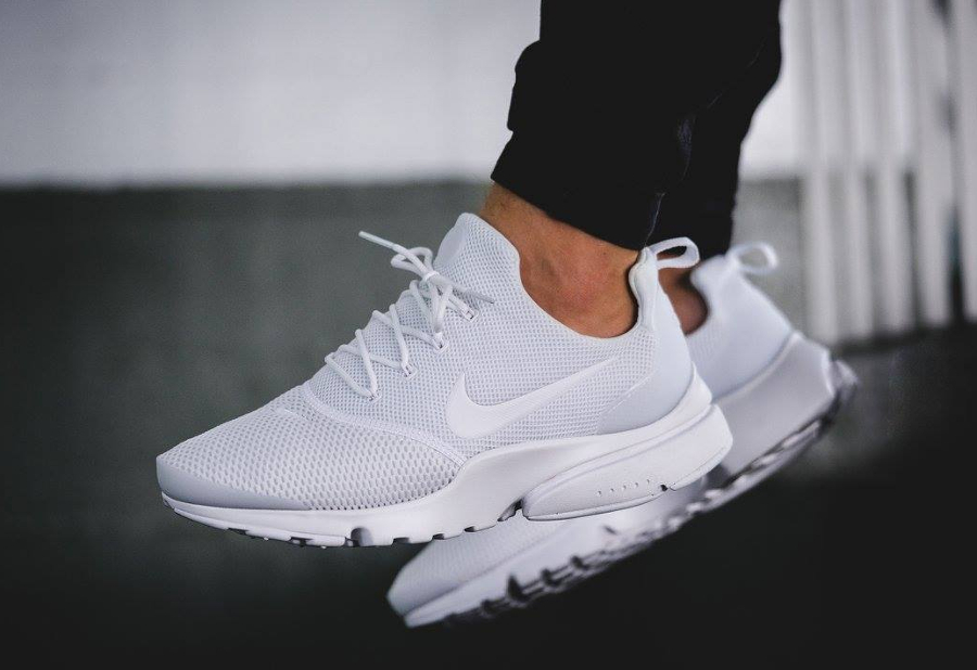 Nike Presto Fly 'Triple White'