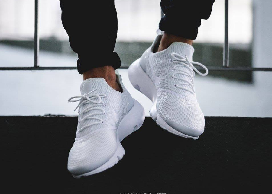 Chaussure Nike Presto Fly Blanche Triple White (homme & femme) (2)