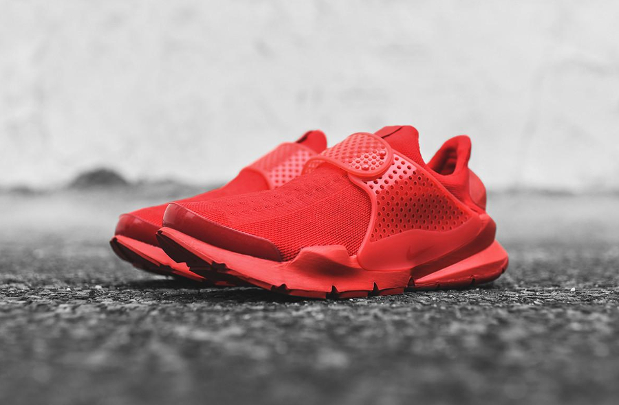 Chaussure Nike Sock Dart Triple Red (Rouge) (3)
