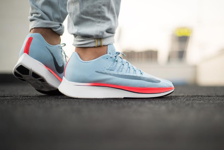 Chaussure Nike Zoom Fly Racer Ice Blue (3)