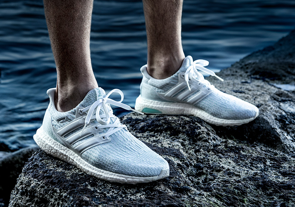 Chaussure Parley x Adidas Ultra Boost 3.0 Icey Blue (4)