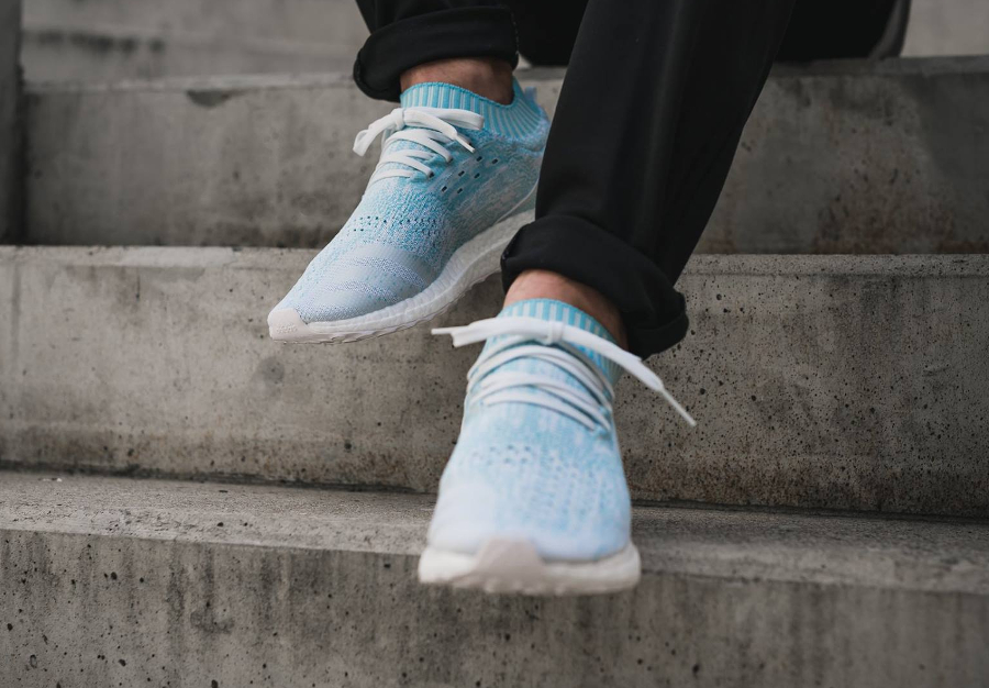Chaussure Parley x Adidas Ultra Boost Uncaged Icey Blue (3)