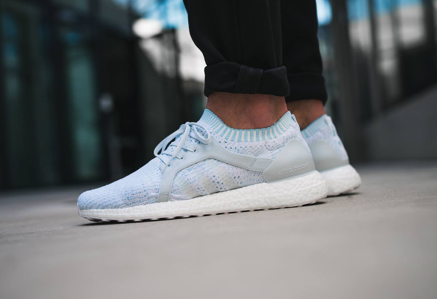 Chaussure Parley x Adidas Ultra Boost X Icey Blue (1)