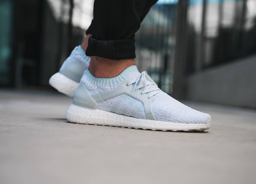 Chaussure Parley x Adidas Ultra Boost X Icey Blue (2)