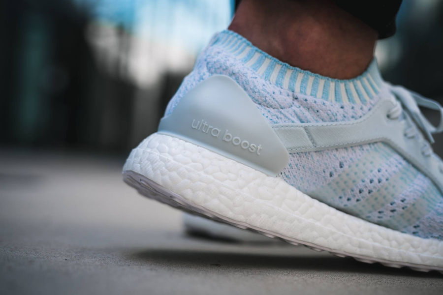 Chaussure Parley x Adidas Ultra Boost X Icey Blue (4)