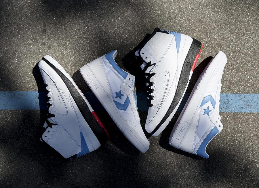 Le pack Jordan x Converse 'UNC' Alumni