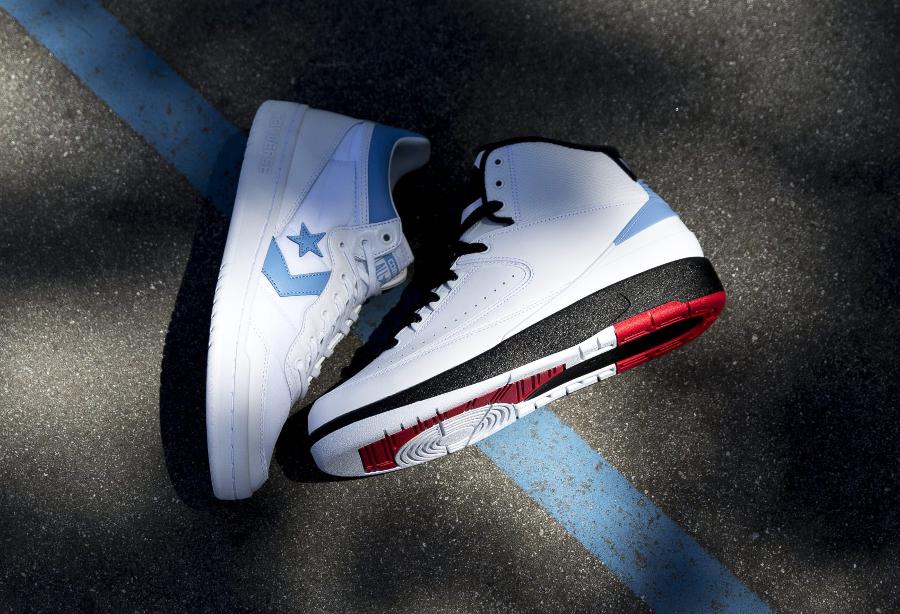 Le pack Jordan x Converse UNC Alumni (2)