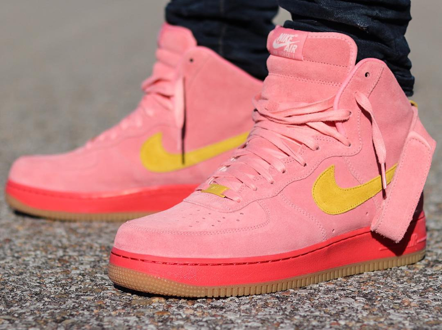 Nike Air Force 1 High ID Summer Suede Rose