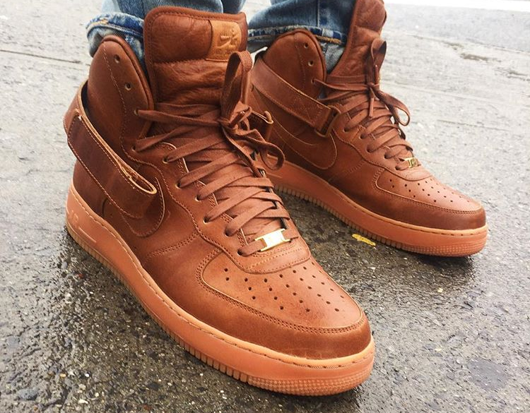 Nike Air Force 1 High ID Will Leather Goods - @jamrock_nyc