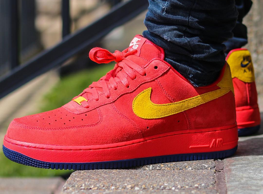 Nike Air Force 1 Low ID Summer Suede Ironman