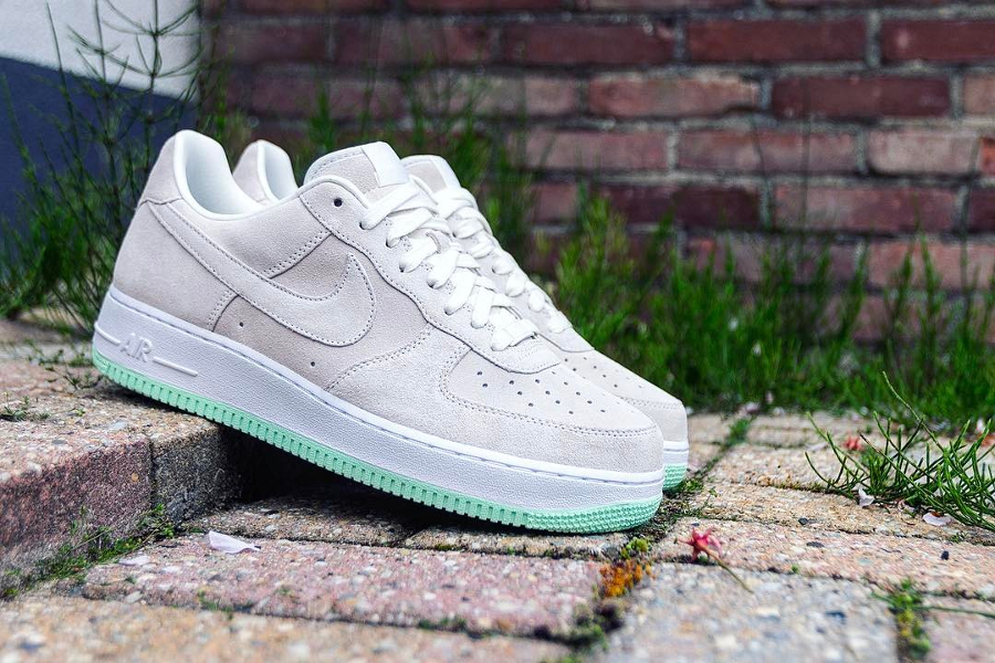 Nike Air Force 1 Low ID Summer Suede Minty Fresh