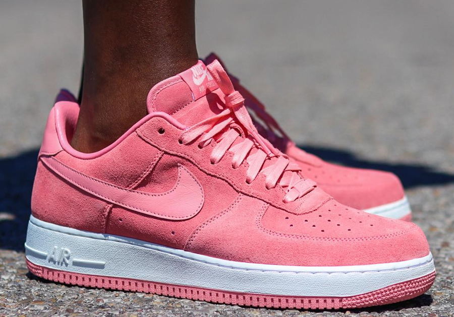 Nike Air Force 1 Low ID Summer Suede Pink (1)