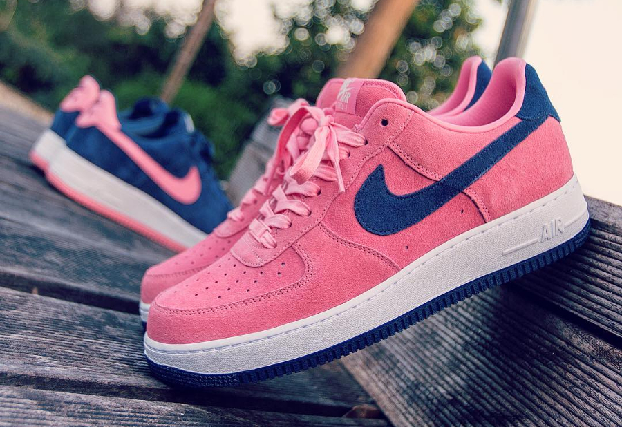 Nike Air Force 1 Low ID Summer Suede Pink
