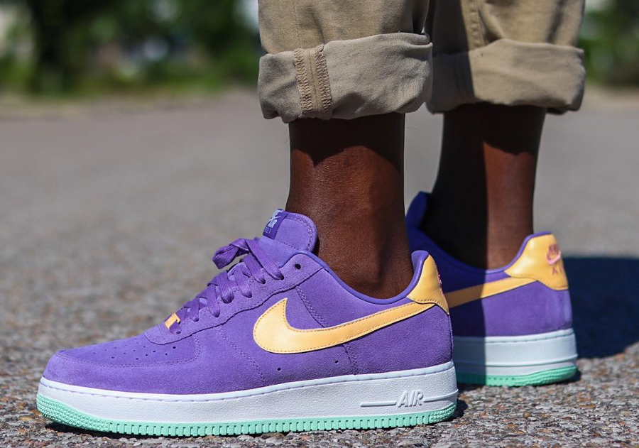Nike Air Force 1 Low ID Summer Suede Purple
