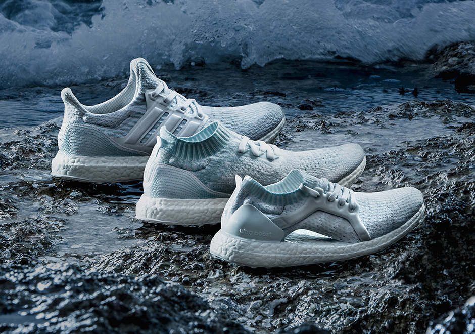 Parley For The Oceans x Adidas UltraBoost 'Icey Blue'