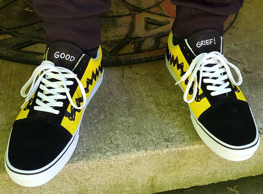 Peanuts x Vans Old Skool Charlie Brown - @hansoloman