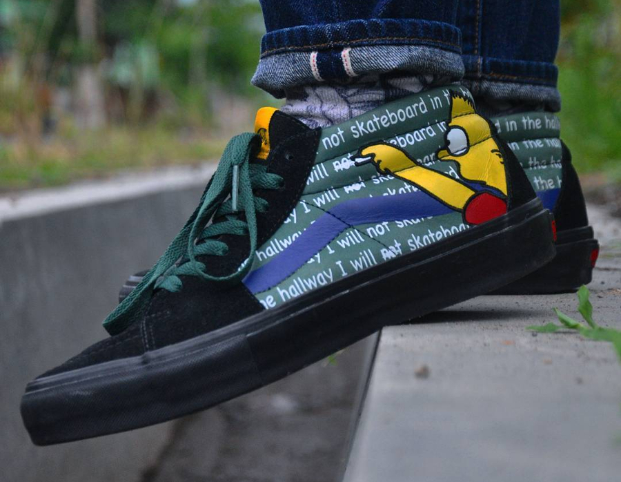 The Simpsons x Vans SK8 Hi LX - @rizaandana