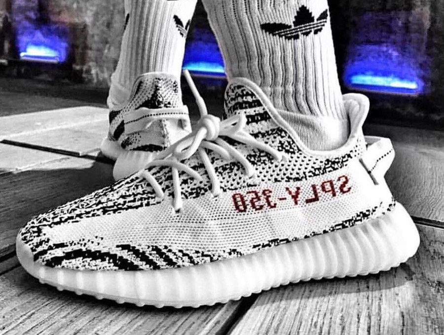 sports shoes 238a0 c2de4 Où trouver la Adidas Yeezy 350 V2 Boost Zebra restock 2018 ?