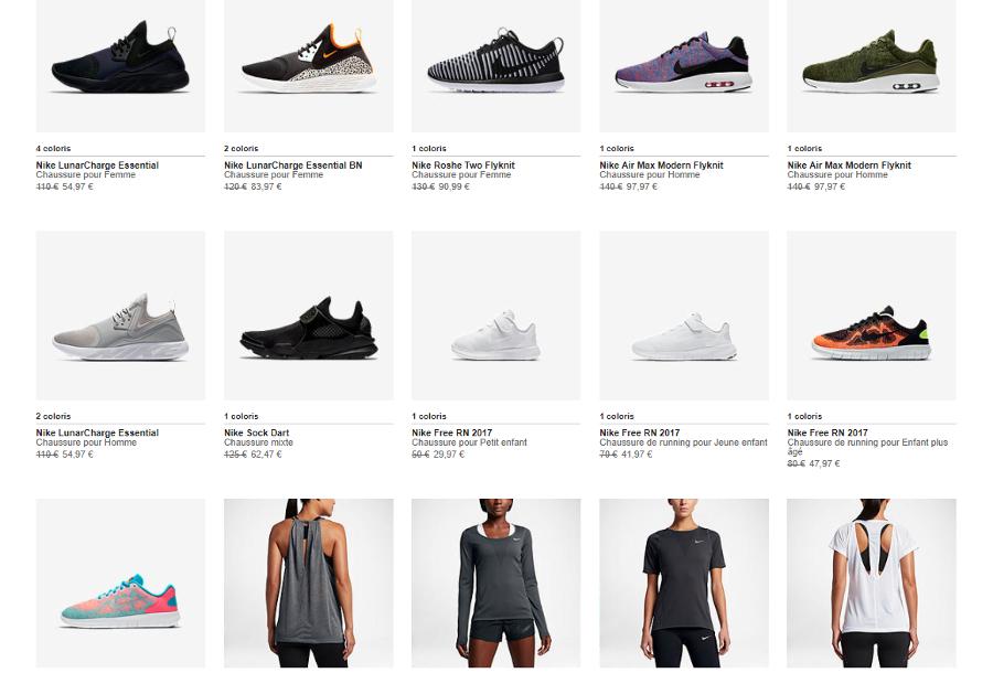 Nike Store soldes printemps 2016 : 6 sneakers à prix réduits