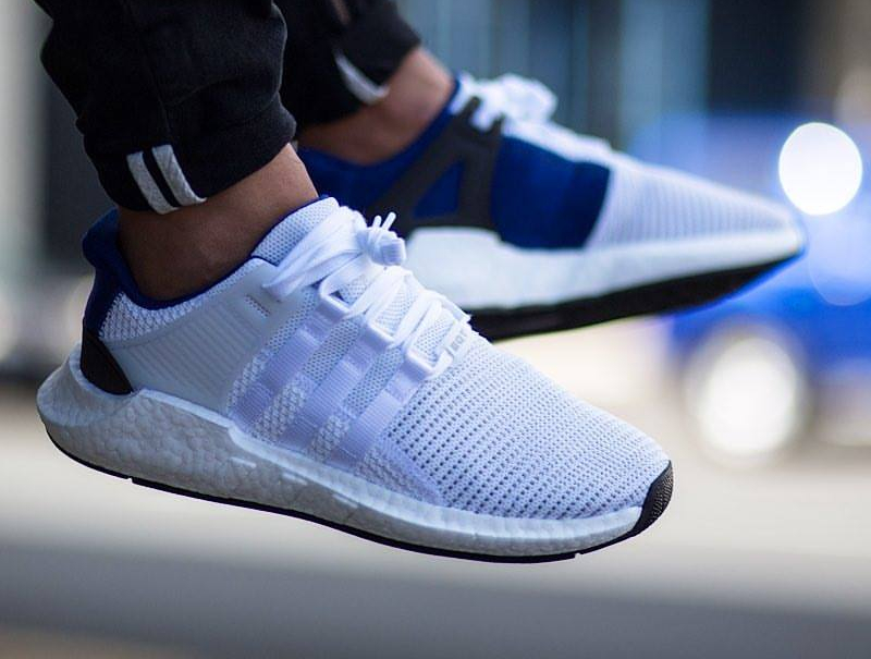 Adidas EQT Support 93 17 White Blue pas cher