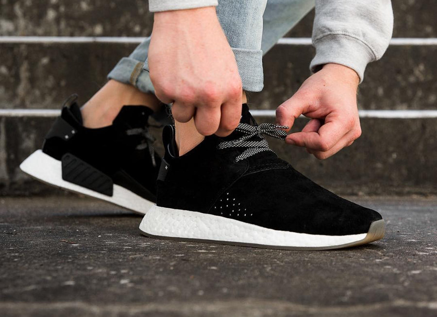 Adidas NMD C2 Chukka Black daim noir pas cher