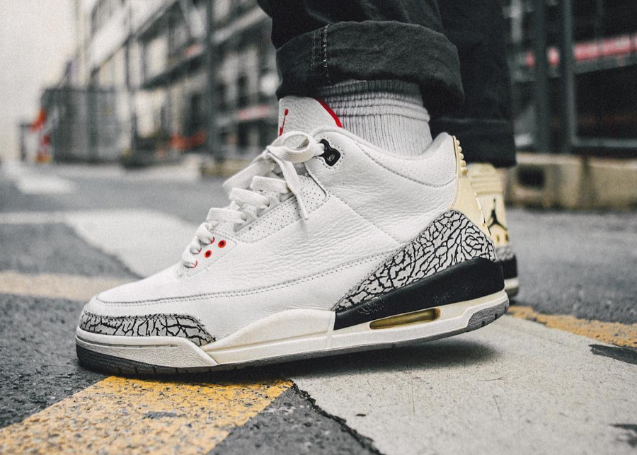 Air Jordan 3 Retro White Cement - @sizetenplease
