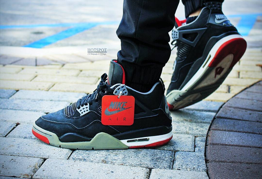 Air Jordan 4 Retro Bred (1994) - @hotspot472 (1)