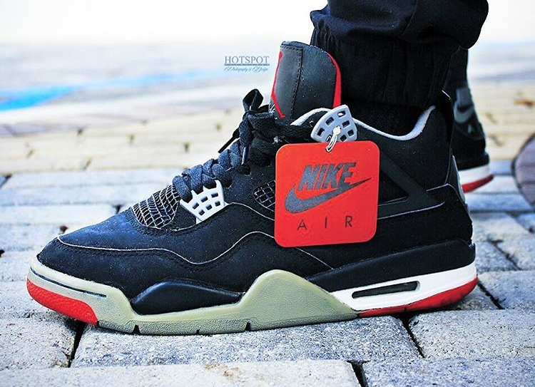 Air Jordan 4 Retro Bred (1994) - @hotspot472