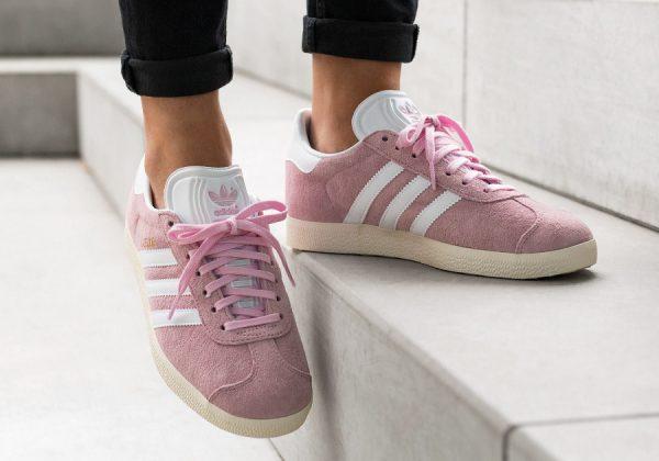 baskets adidas gazelle rose