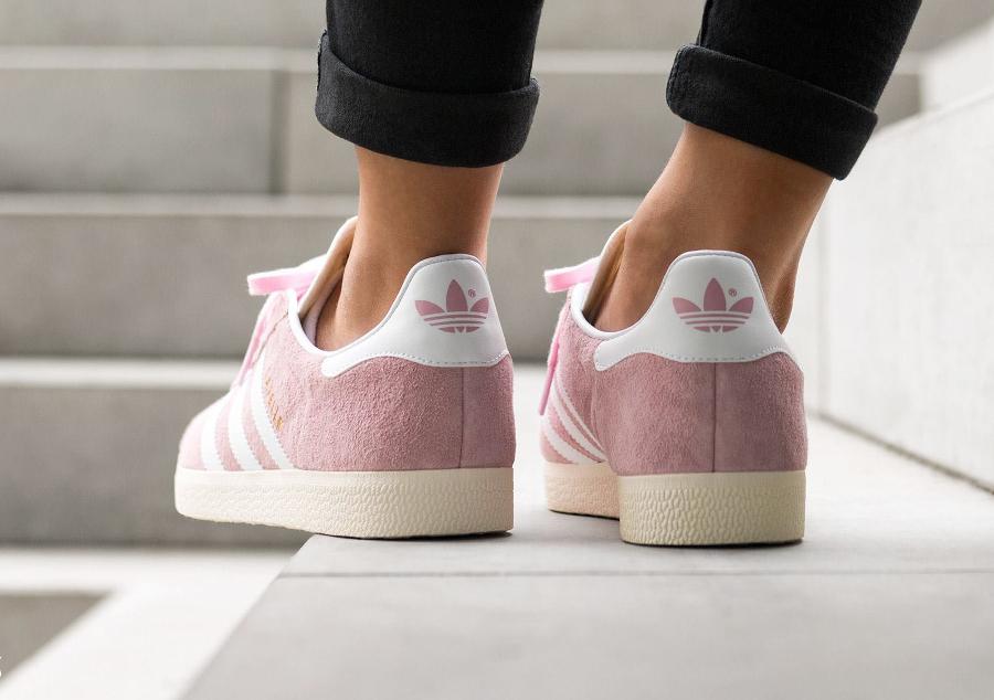 Basket Adidas Gazelle W Wonder Pink (3)