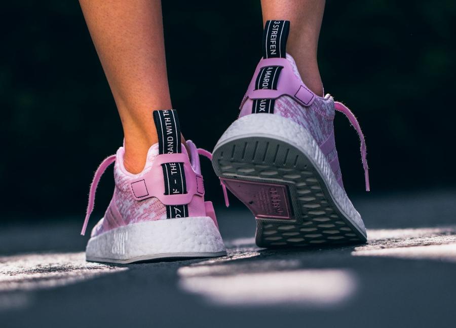Basket Adidas NMD R2 W Wonder Pink (3)