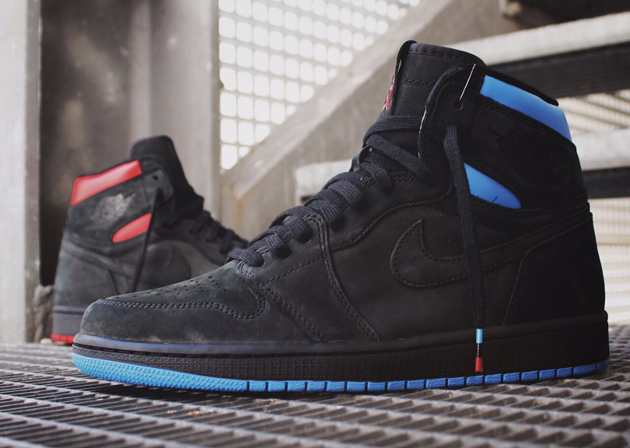 Basket Air Jordan 1 Retro High OG Quai 54
