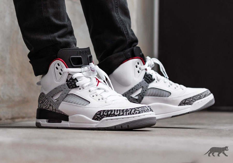 Air Jordan Spizike OG 'White Cement'