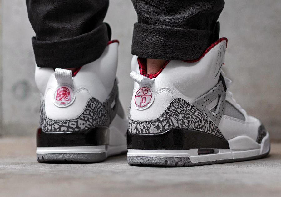 Basket Air Jordan Spizike OG Retro White Cement (2)
