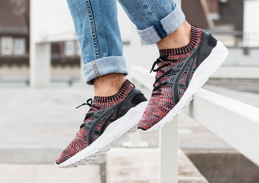 Basket Asics Gel-Kayano Trainer Knit Multicolor (2)