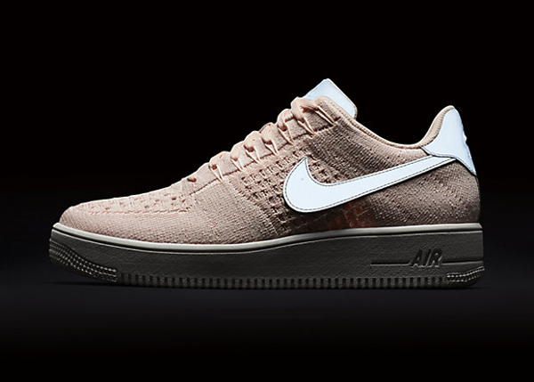 Basket Nike Air Force 1 Ultra Flyknit Low Sunset Tint (3)