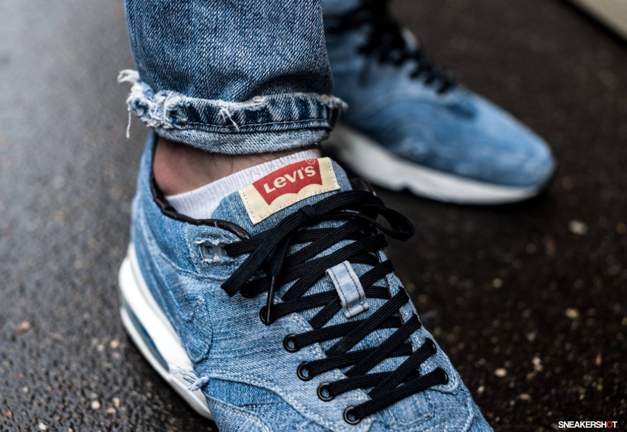 Basket Nike Air Max 1 x 93 Levi's (2)