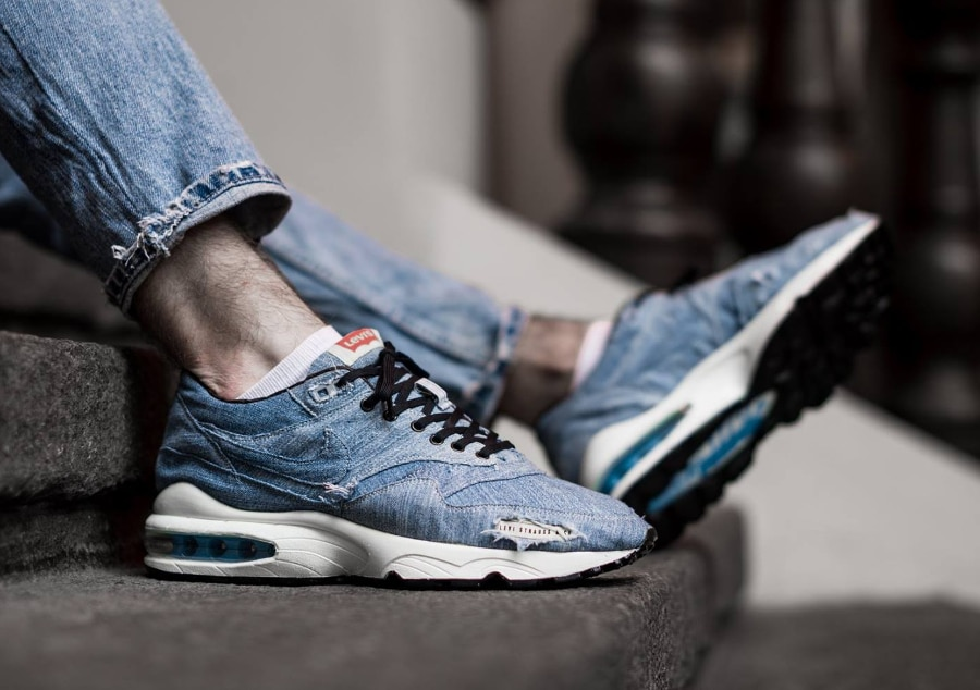 Basket Nike Air Max 1 x 93 Levi's (3)