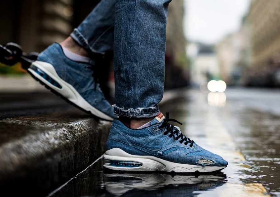 Basket Nike Air Max 1 x 93 Levi's (7)