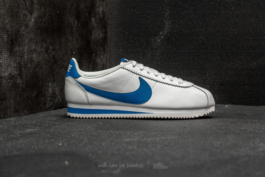 Basket Nike Cortez Leather SE Blue Jay (1)