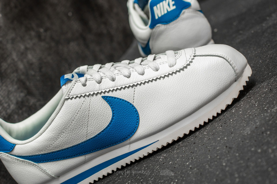 Basket Nike Cortez Leather SE Blue Jay (4)