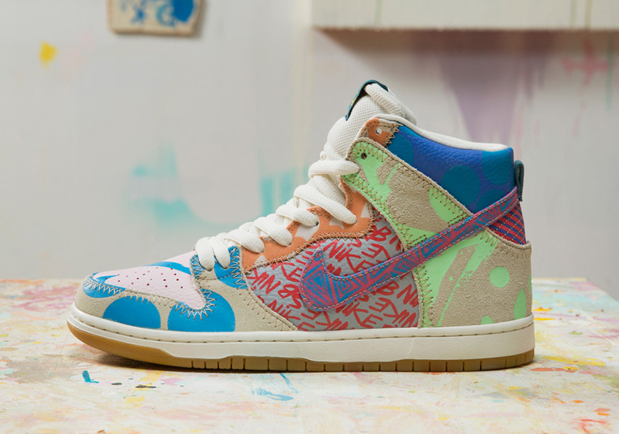 Basket Thomas Campbell x Nike Dunk High SB (4)