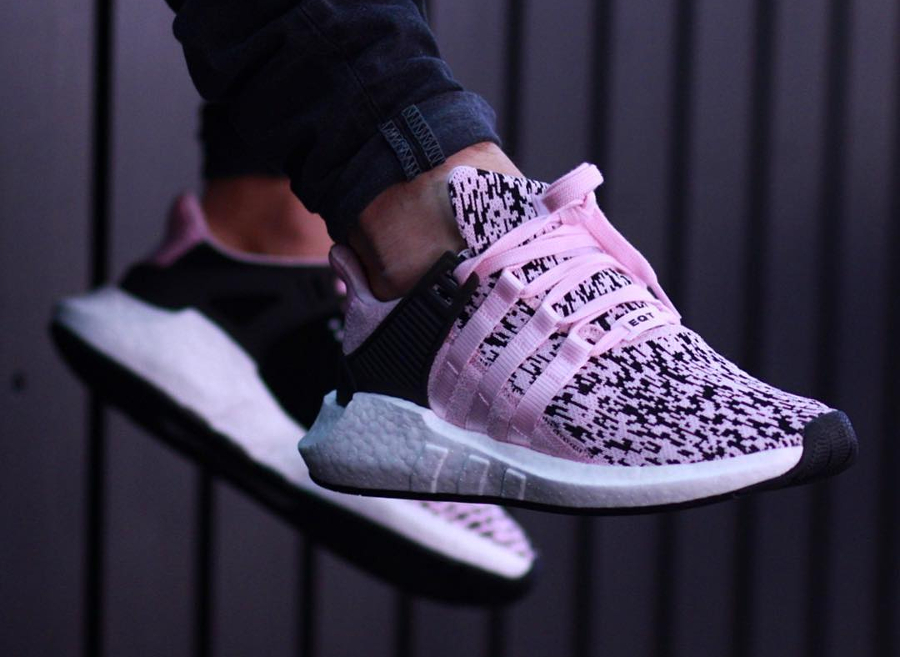 Chaussure Adidas EQT Support 93 17 Wonder Pink