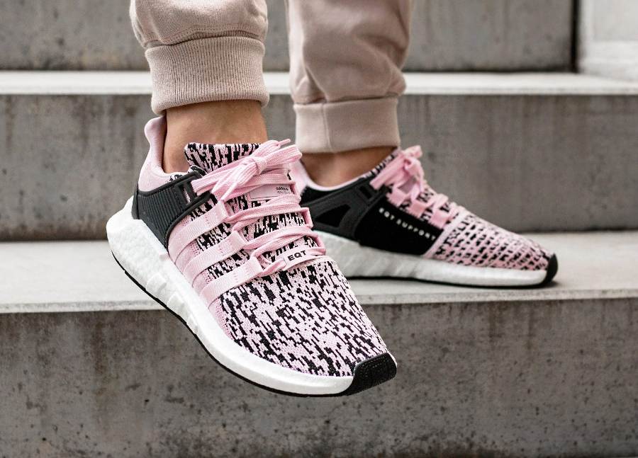 Chaussure Adidas Equipment Support 93 17 Glitch Camo Pink Rose (3)