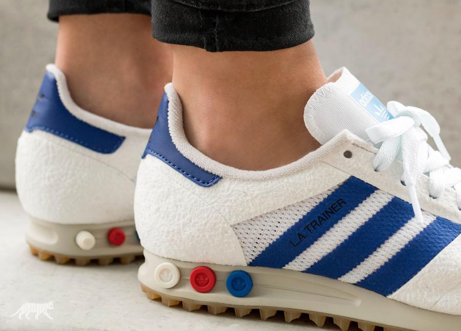 Chaussure Adidas LA Trainer OG White Gum homme (3)