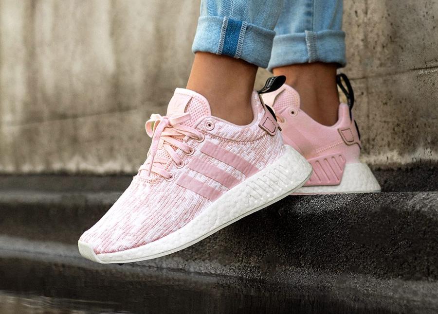 adidas nmd femme grise et rose