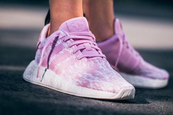Chaussure Adidas NMD R2 femme Rose Wonder Pink (3)