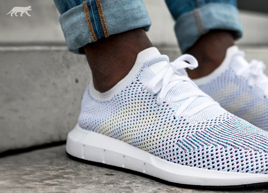Chaussure Adidas Swift Run PK Homme White Multicolor (1)
